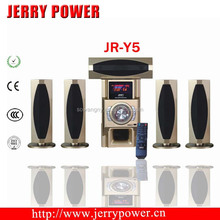 2015 newest product 5.1 wireless surround home theater speakers