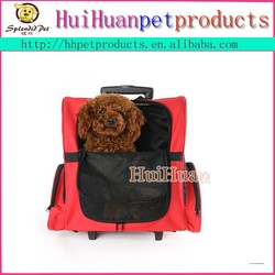 Best quality mess dog carrier with wheels