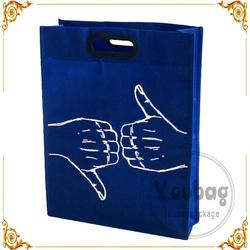 heat transfered and color printing non woven bag