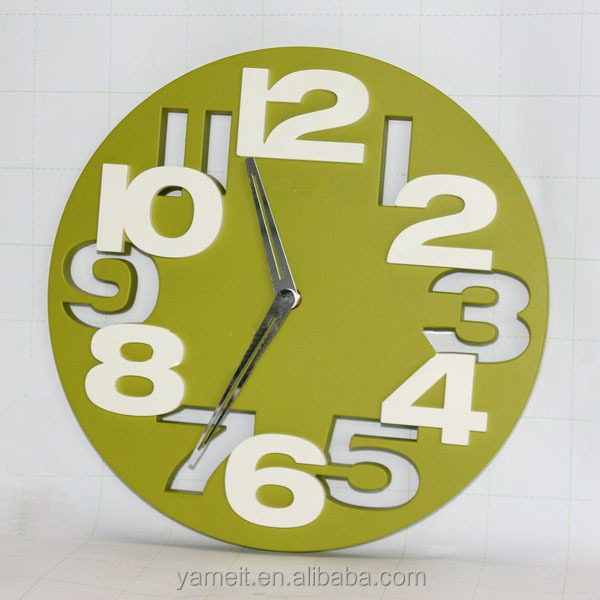 popular acrylic hands only wall clock buy hands only