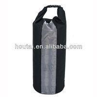 500D PVC Tarpaulin Waterproof Dry Bag With Transparent window design