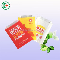 Best selling grease proof french fries paper bags potato chips paper bags