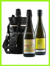 Soft Leather Wine Bottle Bag Wine Carrier