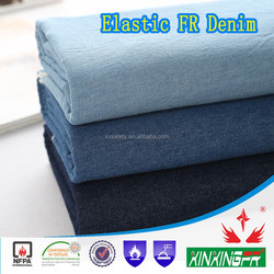 480gsm cotton nonflammable denim fabric for workwear