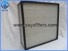 Medium box air filter with Aluminum alloy frame