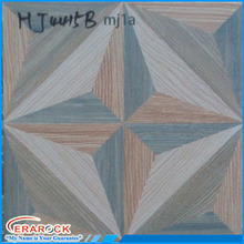 New wood design star pattern rustic floor tiles