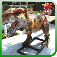 Life size and Life Like Plastic Cartoon Dinosaur Toy