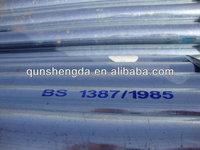 EMT Galvanized Steel Pipe for Car