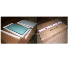 Protective polyfoam packaging with carton box for glass fragile products