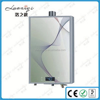 Low price best selling panel hot water heater gas