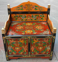 Chinese Antique Furniture Painted Chair