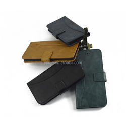 Business style genuine leather case for iphone 6 , four colors you can chose