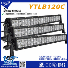 """21.5"""" 120W high power zoom headlamp accesories auto parts , led truck side light for truck suv 4x4"""