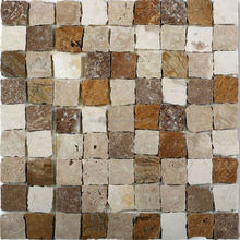 New design marble mosaic tiles natural amber stone for sale