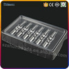 airline atlas tray disposable blister packing clear cosmetic blister packaging Shenzhen China