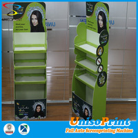 100% original corrugated plastic advertising display/exhibition display stand/fruit and vegetable display stand
