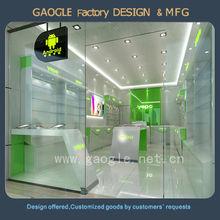hot sell 2015 mordern design mobile phone shop interior design