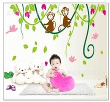 para los niños más jóvenes de la sala de la pared de cristal decoración etiqueta pegatinas decorativas para muebles