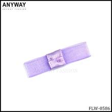 Purple mini Ribbon Flowers Bowknot Embellishment Scrapbooking Craft DIY