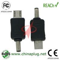 High quality mini jack adapter to micro usb