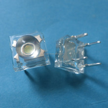 Manufactures white 4-pin super flux LED piranha 5mm high quality for led module