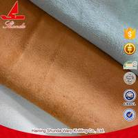 Waterproof Suede Fabric For Sofa