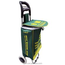 Hot sale foldable trolley shopping bag vegetable,shopping cart bag or shopping trolley bag