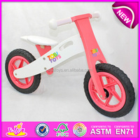 2015 Children bicycle wooden toys in stock,Promotion kids toy wooden balance bicycle,wooden toy bicycle with handlebarW16C088-11
