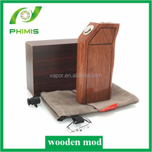 Hot !!2014 alibaba new wood mod/ mechanical wood box mod/ popular wood box mods