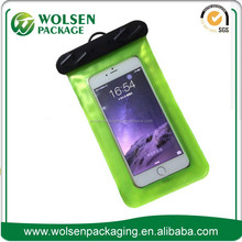 Hot-selling customized PVC waterproof bag for swimming /Mobile phone pvc waterproof bag