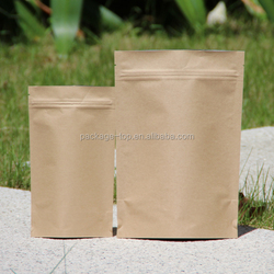 custom printing food grade material bag pouch paper packaging bag for beef jerky / beef jerky packing bag