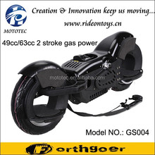 Yongkang Mototec Exclusive Design 49cc gas scooter with aluminum frame