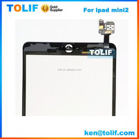 China wholesale original touch screen for ipad replacement with IC ,touch screen for ipad 2,for ipad mini touch screen complete