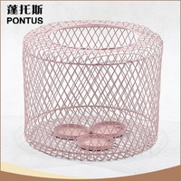 Hot sale metal cage home decoration chinese candle holder