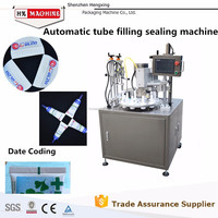 High Quality Fully Automatic Soft Tube Filling And Sealing Machine