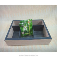 Easy Life , Stereo tea bags, wooden Box Packing