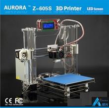 3D Metal Printer Machine Kit China Factory High Quality Reprap Prusa I3 DIY KIT LCD Screen Z605S