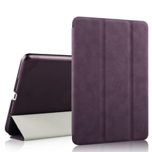 Magnetic Flip Stand Wake Up/Sleep Smart Cover Leather Case for ipad mini leather case luxury case with stand support function