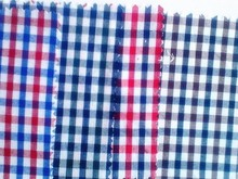 made in China 40S Yarn Dyed Cotton Fabric check pattern shirt fabric