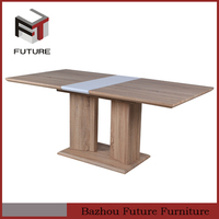 new design modern wood folding table for sale