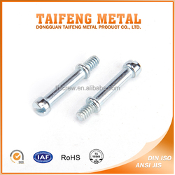 China Zinc Coated Two In One Pan Slotted Connecting Screw
