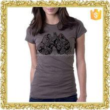 Most popular short sleeve manufacturer women's cheap t shirts for women