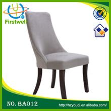 Elegant design modern fabric dinning chair supplier