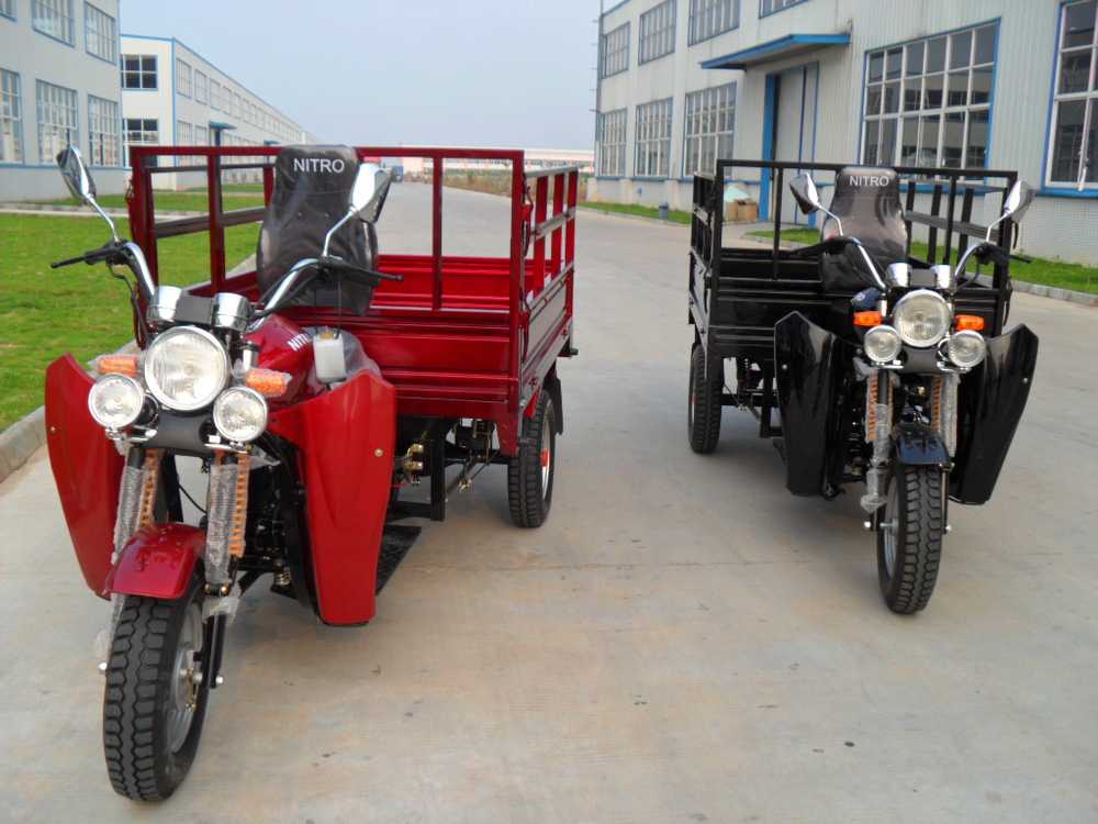 2015 150cc/200cc/250cc New design high quality cargo three wheel motorcycle
