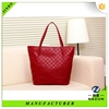stylish china supplier PU handmade tote bag, custom tote bag