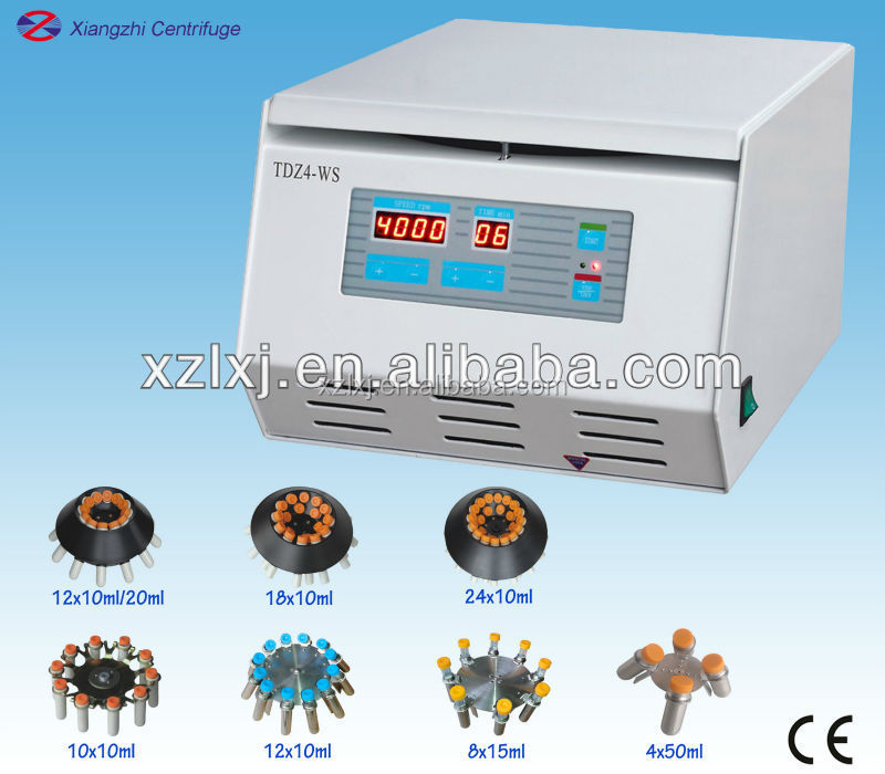 centrifugal laboratory centrifuge/low speed small blood centrifuge