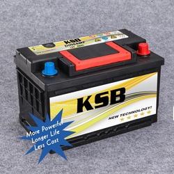 Powerful Car Battery DIN68MF