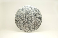 12 inch Silver Cake Drums (12mm Thickness)