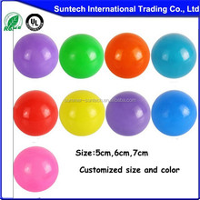 Hot selling ocean PE ball wholesale bulk plastic ball pit balls