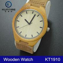 New arrival wood watch Japan movt quartz vogue bamboo sandals watch